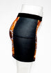 Women's Dark Wax Mini Skirt
