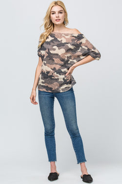 Shirts, Camo Over The Shoulder