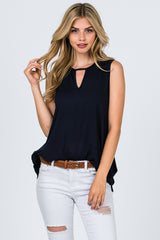 Tops, Sleeveless w/Keyhole Front and Back