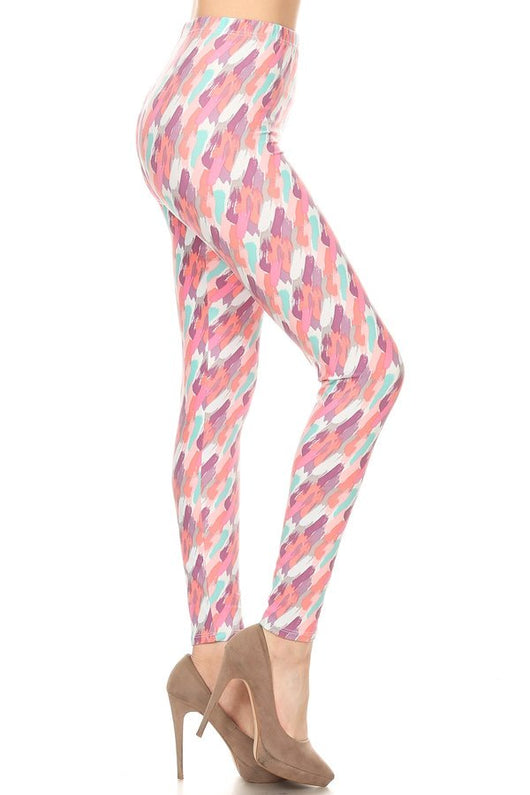 Leggings, Pastel Paint Sample