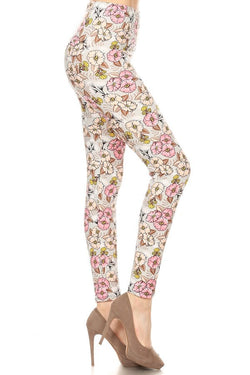 Leggings, All Over Floral