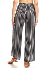 Leggings, Black and White Palazzo Pants