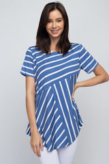 Tops, All Around Stripes Short Sleeve