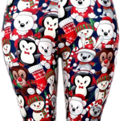 Leggings, Christmas Animals