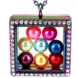 Pearl Lockets w/Magnetic Closure