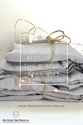 Natural Bedding - The Perfect Baby Gift