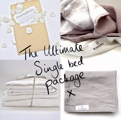Pure linen single bed bundle | Teeny Tiny Linen