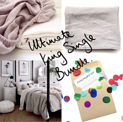 Ultimate king single bundle|Teeny Tiny Linen