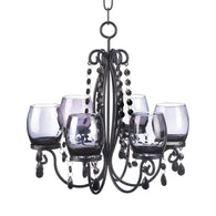 Black Elegant Chandelier-Candle Chandeliers-Across The Counter