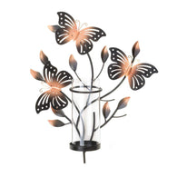 Fluttering Butterfly Wall Candleholder-More Candleholders-Across The Counter