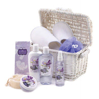 Blueberry Scented Bath And Body Basket Set-Bath and Body Gift Sets-Across The Counter