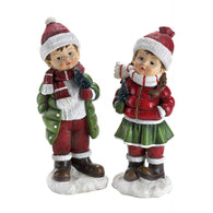 Holly & Noel Holiday Figurines-Christmas-Across The Counter