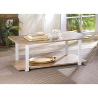 Contemporary Cottage Coffee Table-Tables-Across The Counter