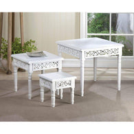 Floret Nesting Table Trio-Tables-Across The Counter