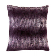 Orchid Ombre Fur Pillow-Blankets and Bedding-Across The Counter