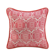 Jute Red Pillow-Blankets and Bedding-Across The Counter