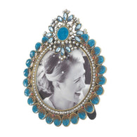 Royal Peacock Photo Frame-Picture Frames-Across The Counter