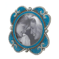 Turquoise Treasure Photo Frame-Picture Frames-Across The Counter