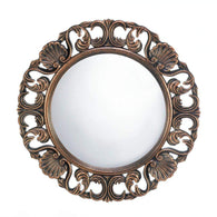 Heirloom Round Wall Mirror-Mirrors-Across The Counter