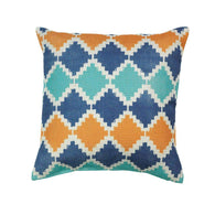 Southwestern Diamond Throw Pillow-Blankets and Bedding-Across The Counter