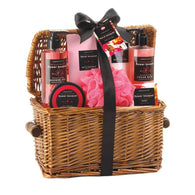 Floral Bouquet Spa Basket-Bath and Body Gift Sets-Across The Counter