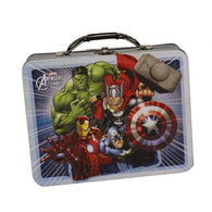 Avengers White Tin Lunch Box-Licensed Merchandise-Across The Counter