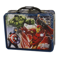 Avengers Blue Tin Lunch Box-Licensed Merchandise-Across The Counter