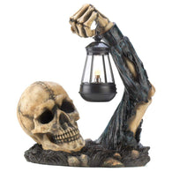 Sinister Skull With Lantern-Halloween-Across The Counter