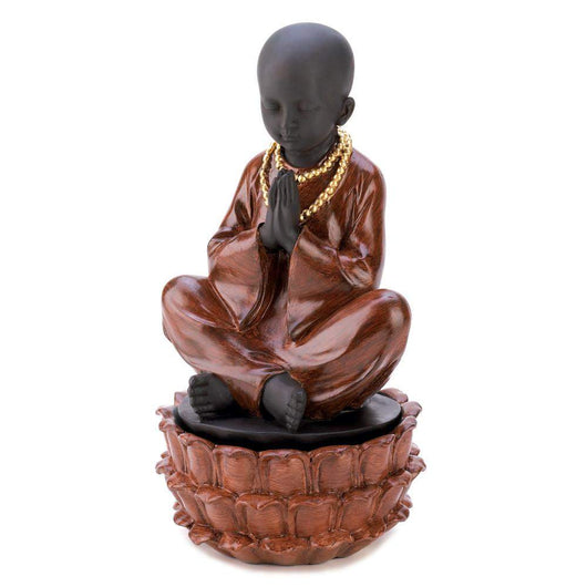 Sitting Monk Treasure Box-Jewelry Holders-Across The Counter