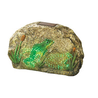 Magic Motion Frog Garden Stone-Solar Powered-Across The Counter