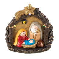 Lighted Large Nativity Figurine-Christmas-Across The Counter