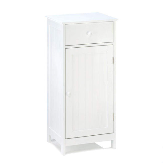 White Home Storage Cabinet-Furniture-Across The Counter