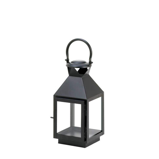 Medium Classic Black Candle Lantern-Candle Lanterns-Across The Counter