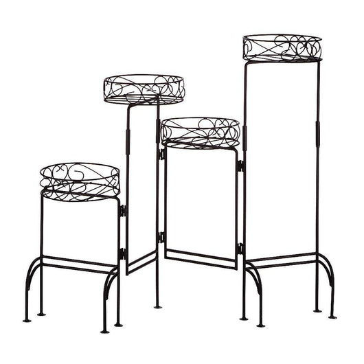 4-tier Plant Stand Screen-Planters and Pots-Across The Counter