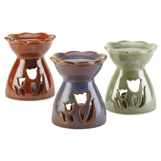 Flower Oil Warmers-Oil Burners-Across The Counter