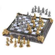 Medieval Chess Set-Chess Sets-Across The Counter
