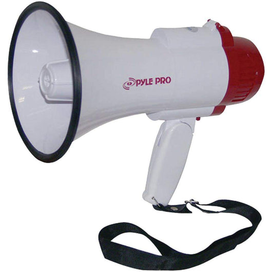 Pyle Pro Professional Megaphone And Bullhorn With Siren & Voice Recorder-Karaoke and Microphones-Across The Counter