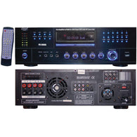 Pyle Home 3000-watt Am And Fm Receiver With Built-in Dvd-Home Theater and Stereos-Across The Counter