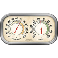 Springfield Humidity Meter & Thermometer Combo-Weather Stations-Across The Counter