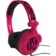 Maxell Amplified Heavy Bass Headphones (hot Pink)-Headphones-Across The Counter