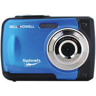 Bell+howell 12.0 Megapixel Wp10 Splash Waterproof Digital Camera (blue)-Cameras and Camcorders-Across The Counter
