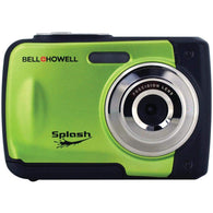 Bell+howell 12.0 Megapixel Wp10 Splash Waterproof Digital Camera (green)-Cameras and Camcorders-Across The Counter