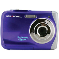 Bell+howell 12.0 Megapixel Wp7 Splash Waterproof Digital Camera (purple)-Cameras and Camcorders-Across The Counter