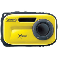Coleman 12.0 Megapixel Xtreme Waterproof Digital Camera (yellow)-Cameras and Camcorders-Across The Counter