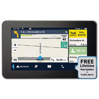 "Magellan Roadmate Commercial Truck Rc9485t-lmb 7"" Gps Device With Lifetime Maps & Traffic Updates-GPS and Navigation-Across The Counter"