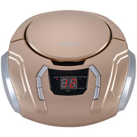 Sylvania Portable Cd Player With Am And Fm Radio (champagne)-Home Theater and Stereos-Across The Counter