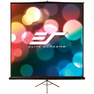 "Elite Screens 1:1 Tripod Pro Portable Screen (85"")-Projectors and Screens-Across The Counter"