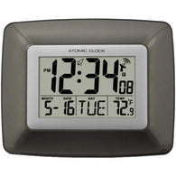 La Crosse Technology Atomic Digital Wall Clock With Indoor Temperature-Weather Stations-Across The Counter
