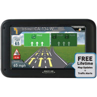 "Magellan Roadmate 5375t-lmb 5"" Gps Device With Bluetooth & Free Lifetime Maps & Traffic Updates-GPS and Navigation-Across The Counter"