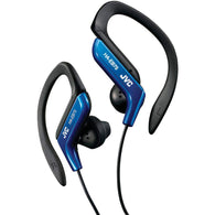 Jvc Ear-clip Earbuds (blue)-Headphones-Across The Counter